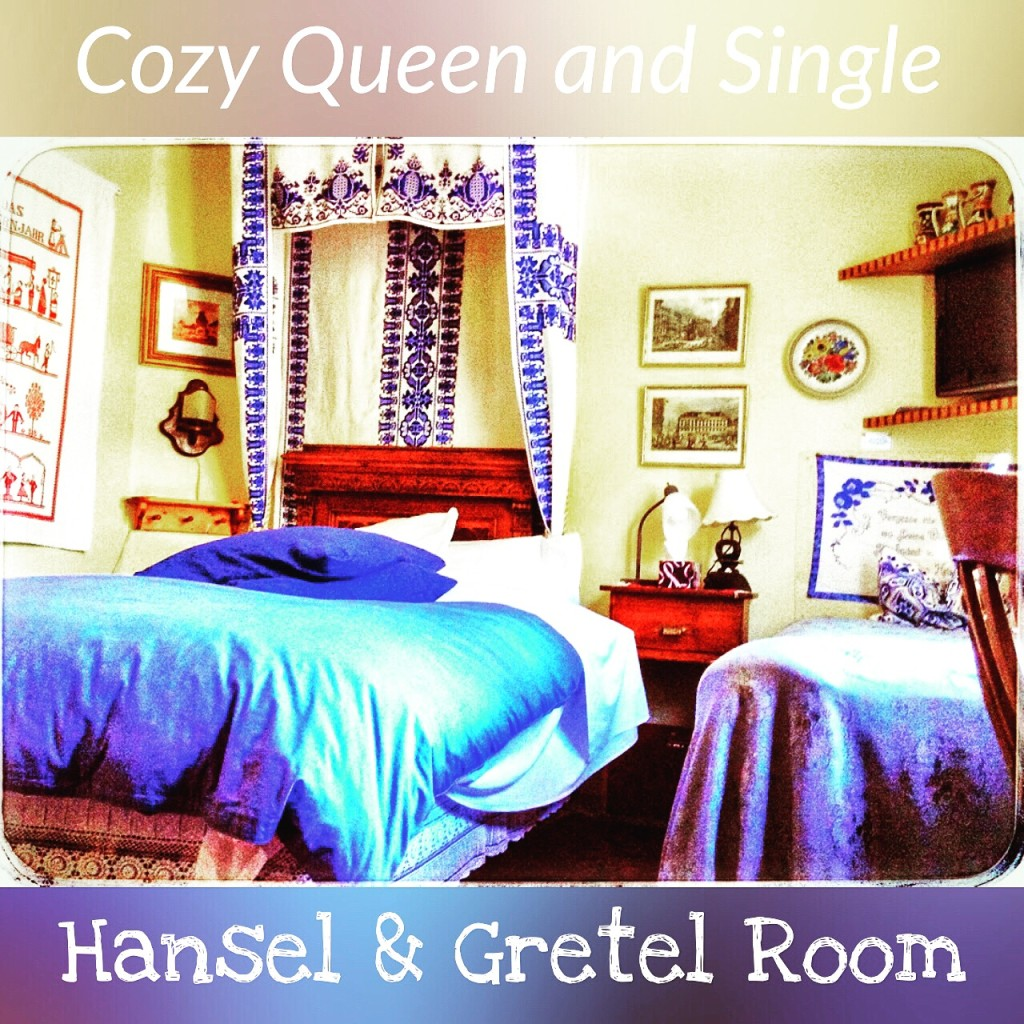 Hansel and Gretel Family Suite Victoria BC Bed Breakfast Downtown