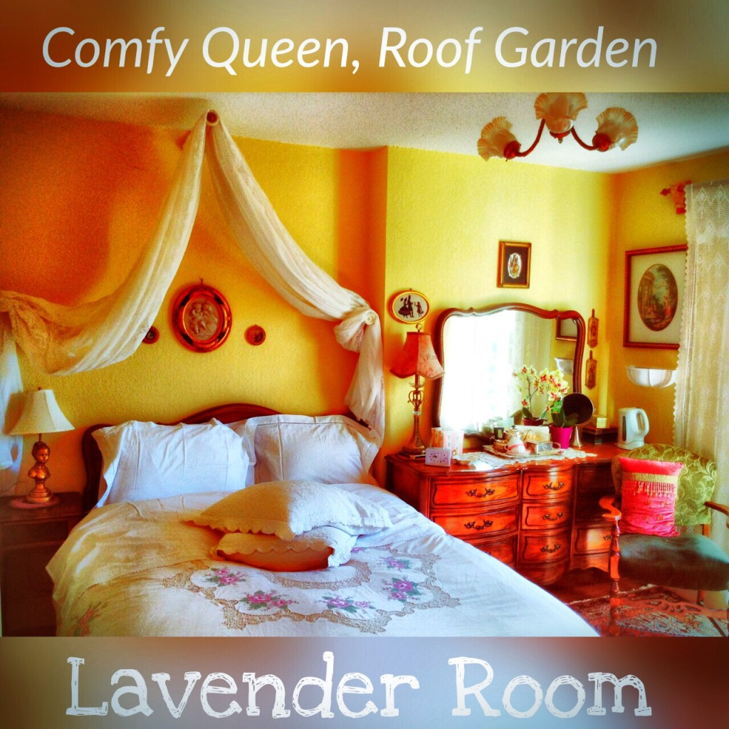 Lavender Room at the Gingerbread Cottage Victoria BC Bed Breakfast Downtown