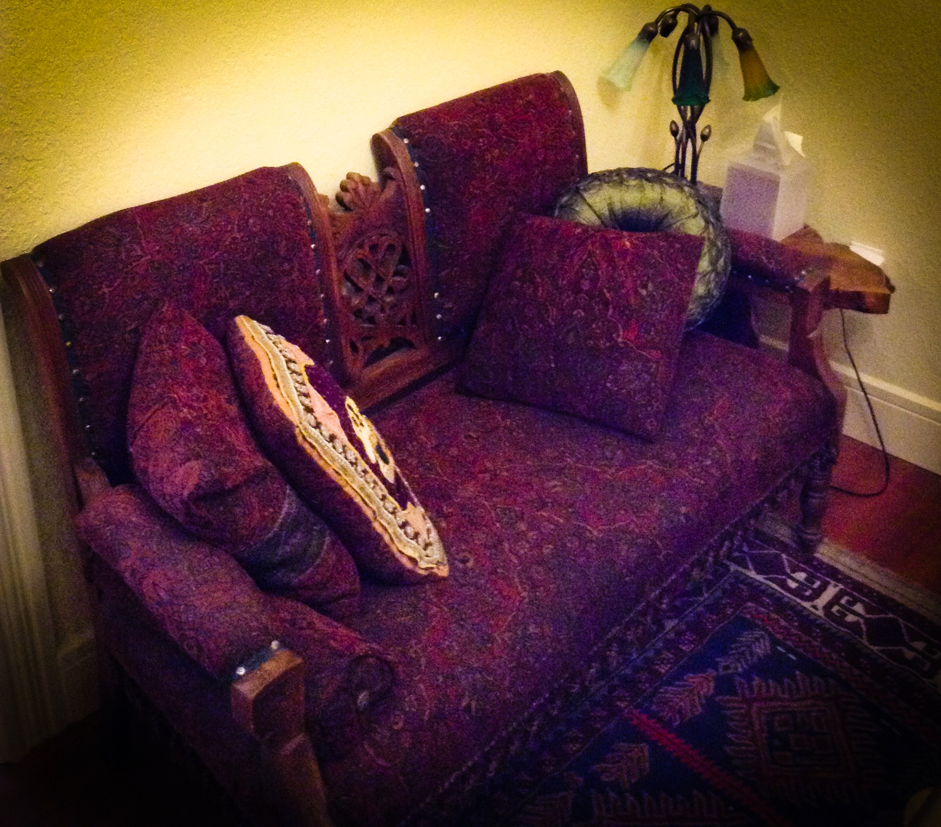 Antique Irish Settee