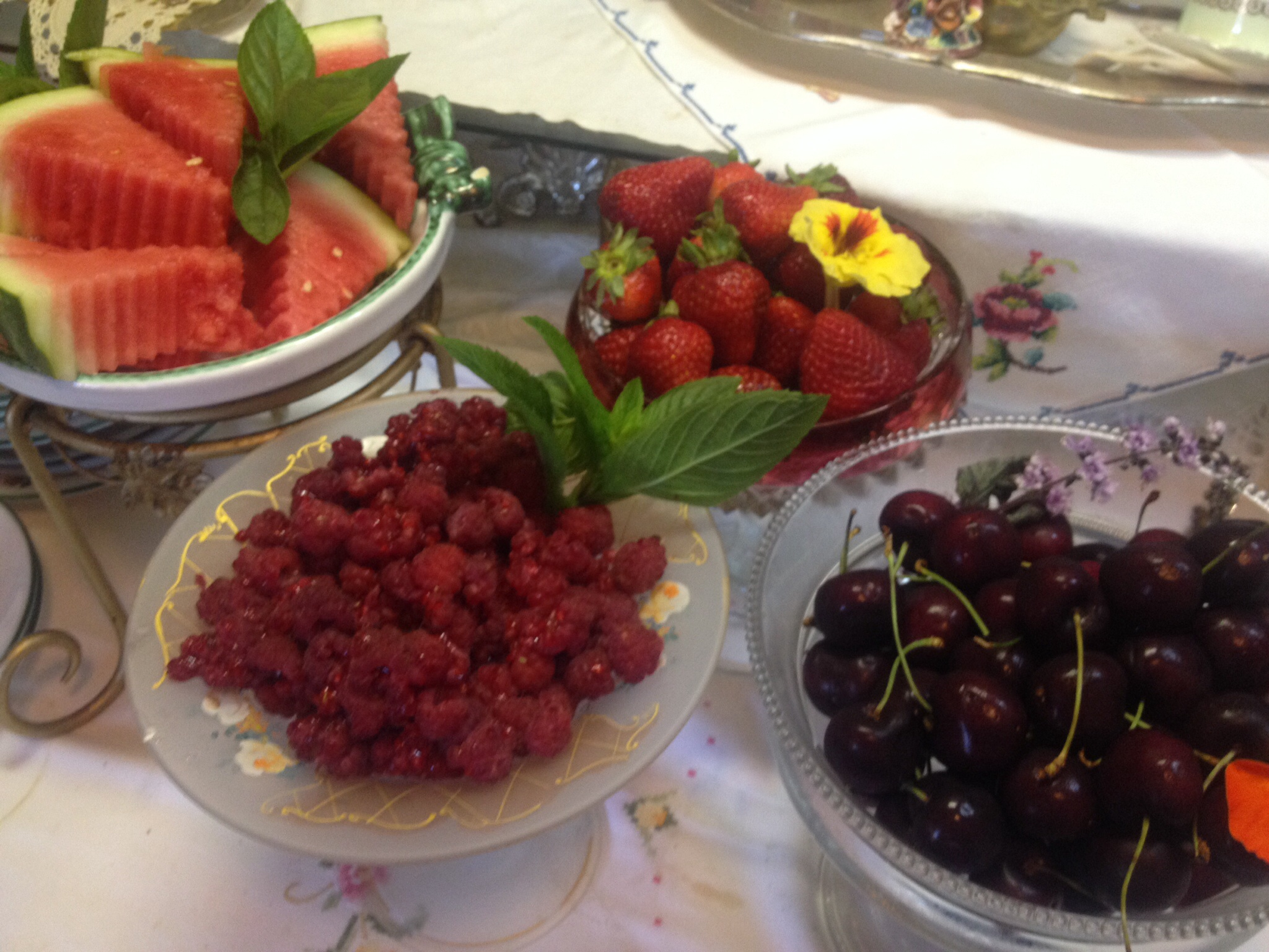 Fresh seasonal Fruits and Berries