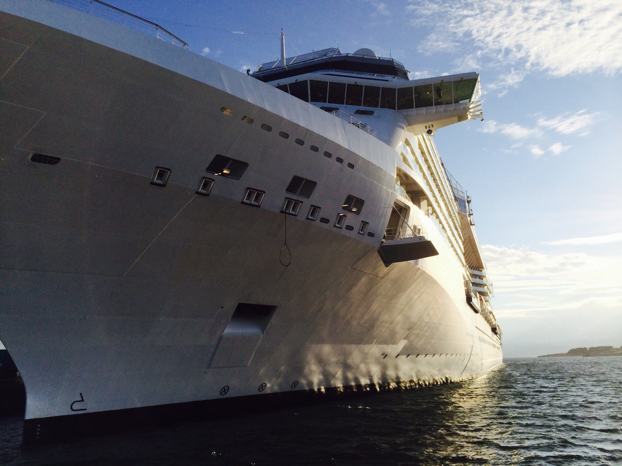 Celebrity Solstice Side View