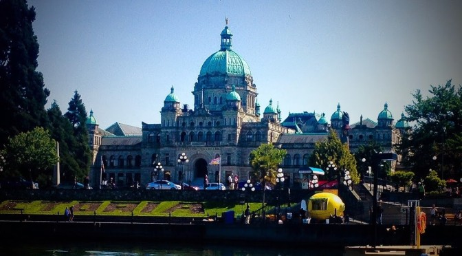 Victoria BC Canada Legislative Buildings