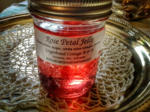 Victorian Era Healthy Recipes - Rose Petal Jelly
